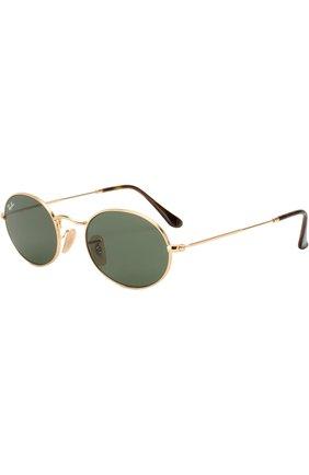 Мужские солнцезащитные очки RAY-BAN золотого цвета, арт. 3547N-001 | Фото 1