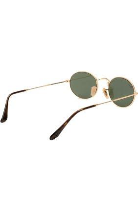 Мужские солнцезащитные очки RAY-BAN золотого цвета, арт. 3547N-001 | Фото 3 (Тип очков: С/з; Статус проверки: Требуются правки, Проверена категория; Очки форма: Овальные; Оптика Гендер: оптика-унисекс)