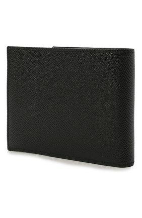 Мужской кожаное портмоне с отделениями для кредитных карт и монет DOLCE & GABBANA черного цвета, арт. BP0457/AI359 | Фото 2