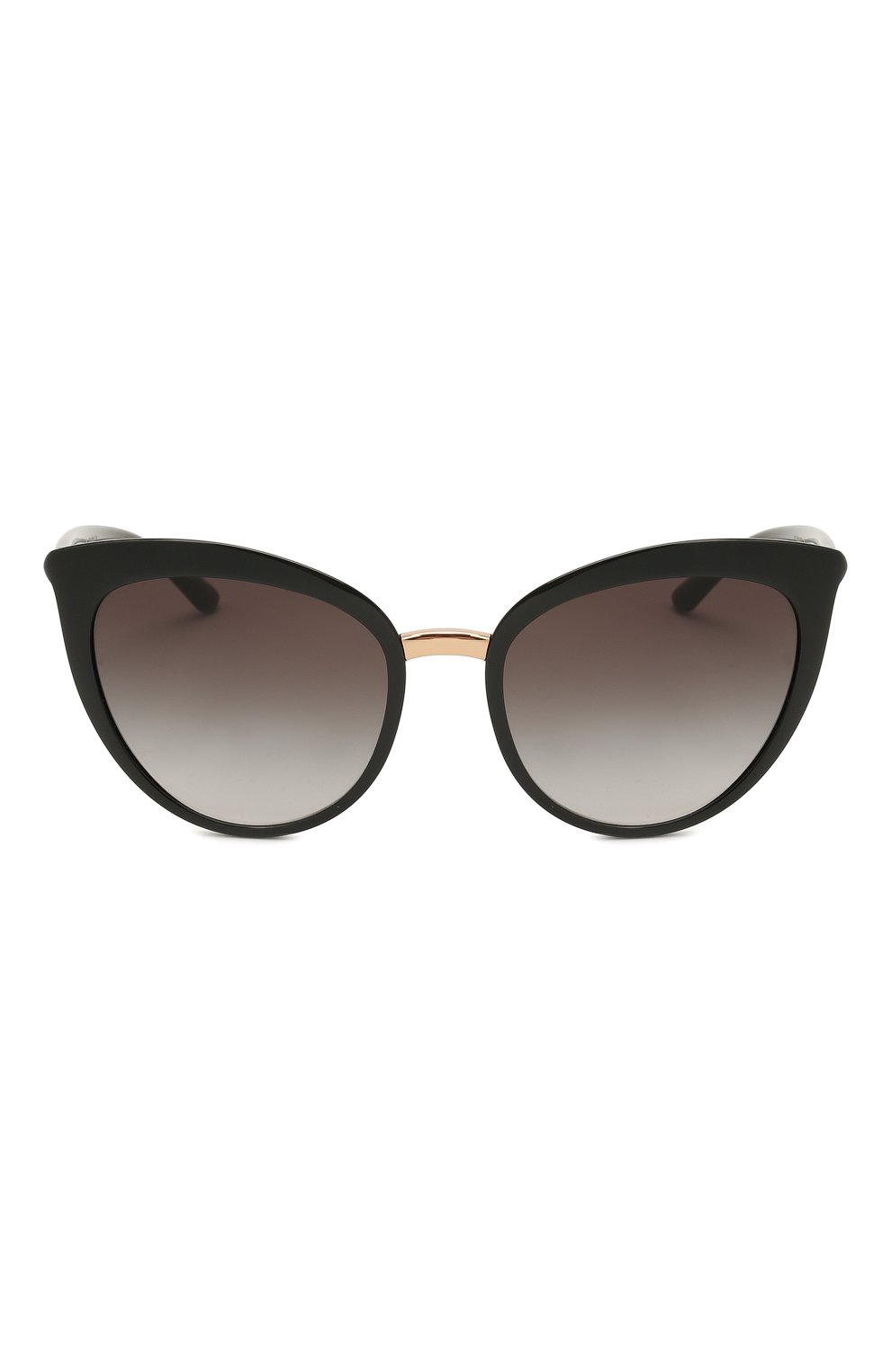 Женские солнцезащитные очки DOLCE & GABBANA черного цвета, арт. 6113-501/8G   Фото 3