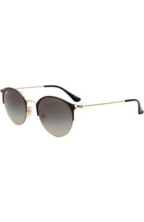 Женские солнцезащитные очки RAY-BAN черного цвета, арт. 3578-187/11 | Фото 1