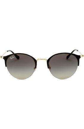 Женские солнцезащитные очки RAY-BAN черного цвета, арт. 3578-187/11 | Фото 2