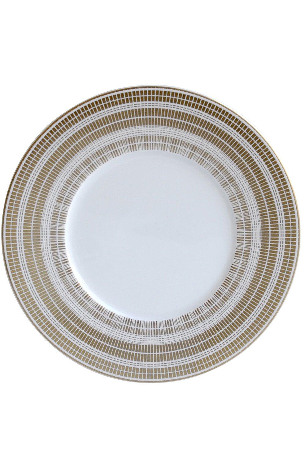 Мужского тарелка для хлеба и масла canisse BERNARDAUD белого цвета, арт. 1732/3 | Фото 1