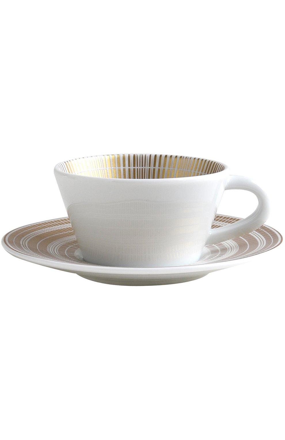 Кофейная чашка с блюдцем Canisse | Фото №1