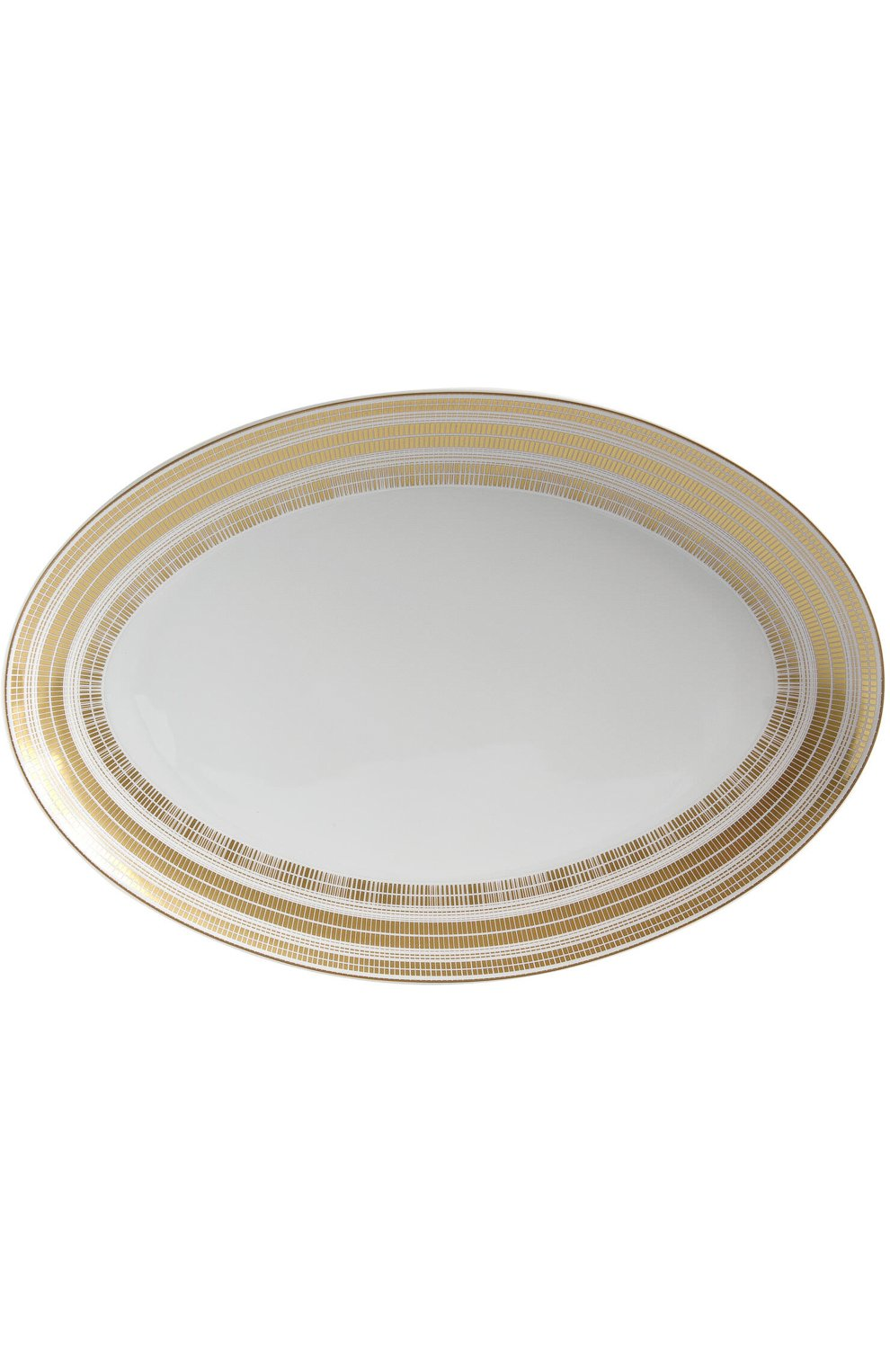 Мужского блюдо овальное canisse BERNARDAUD белого цвета, арт. 1732/107   Фото 1
