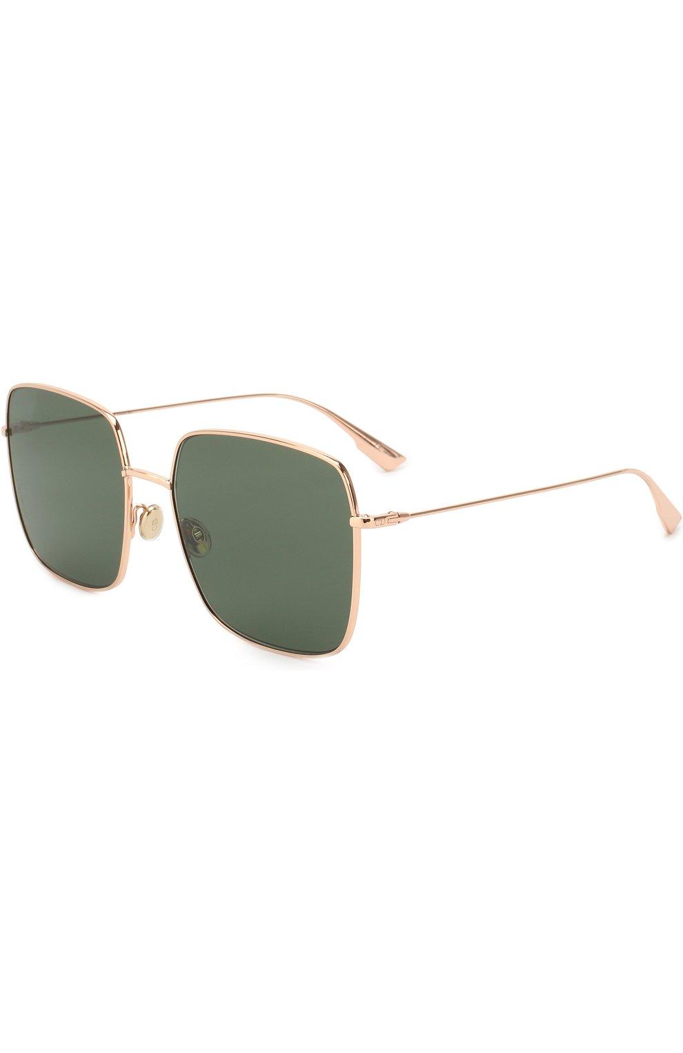 Женские солнцезащитные очки DIOR золотого цвета, арт. DI0RSTELLAIRE1 DDB | Фото 1