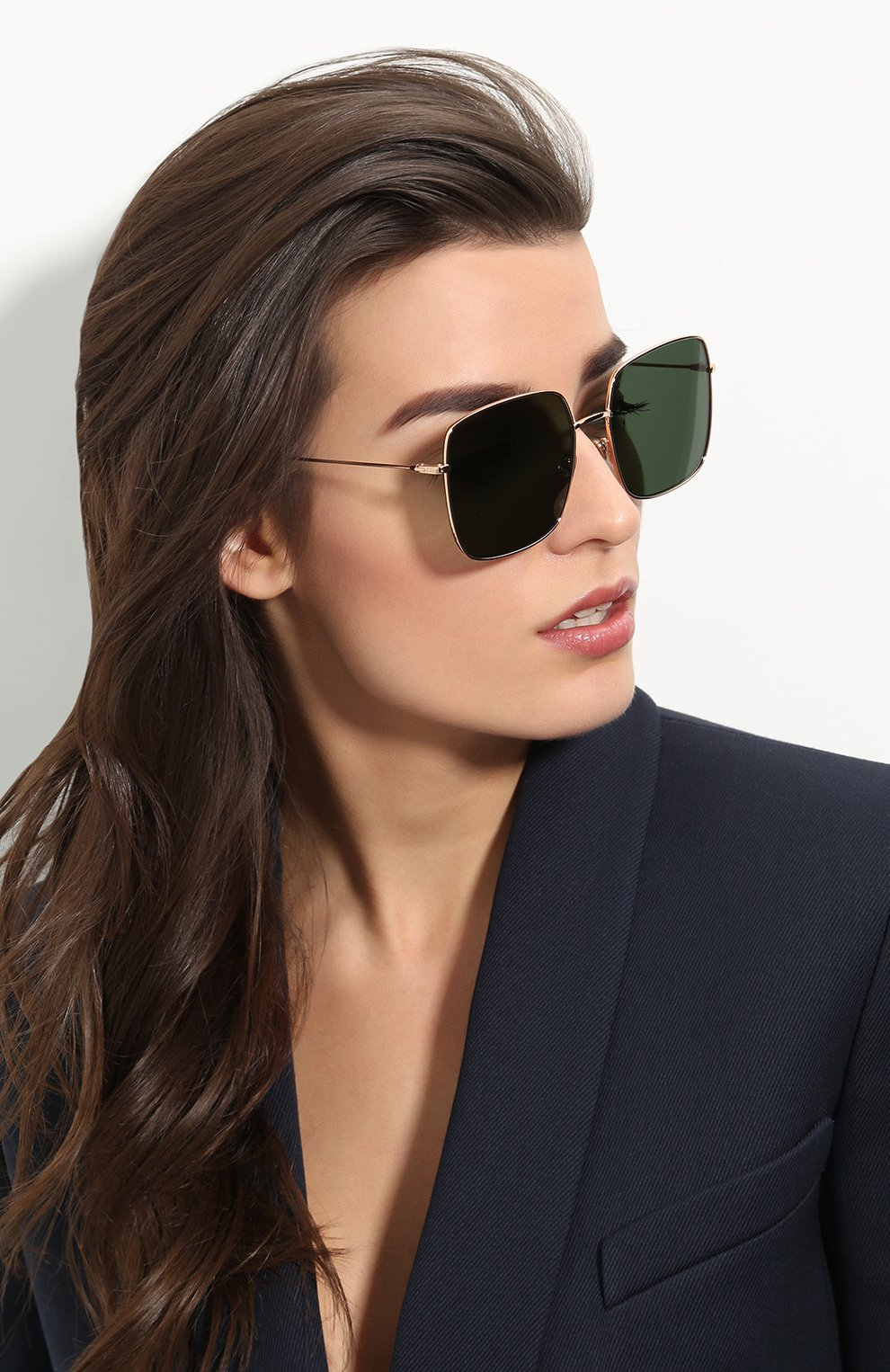 Женские солнцезащитные очки DIOR золотого цвета, арт. DI0RSTELLAIRE1 DDB | Фото 2