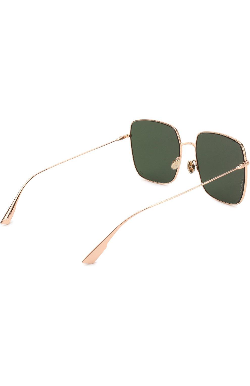 Женские солнцезащитные очки DIOR золотого цвета, арт. DI0RSTELLAIRE1 DDB | Фото 4