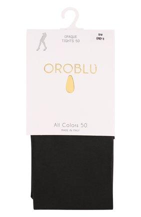 Женские капроновые колготки OROBLU серого цвета, арт. V0BC01187 | Фото 1