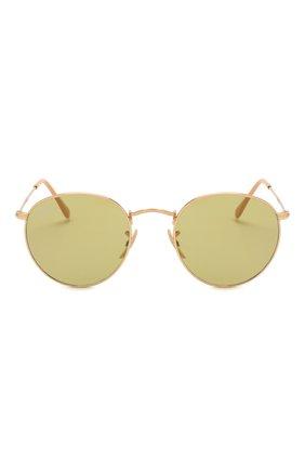 Женские солнцезащитные очки RAY-BAN золотого цвета, арт. 3447-90644C | Фото 4