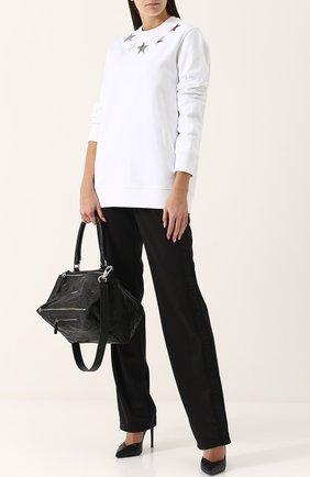 Женская сумка pandora medium GIVENCHY черного цвета, арт. BB05250004 | Фото 2