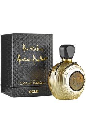 Парфюмерная вода mon parfum gold special edition M. MICALLEF бесцветного цвета, арт. 3760060779984   Фото 1 (Статус проверки: Проверена категория; Ограничения доставки: flammable)