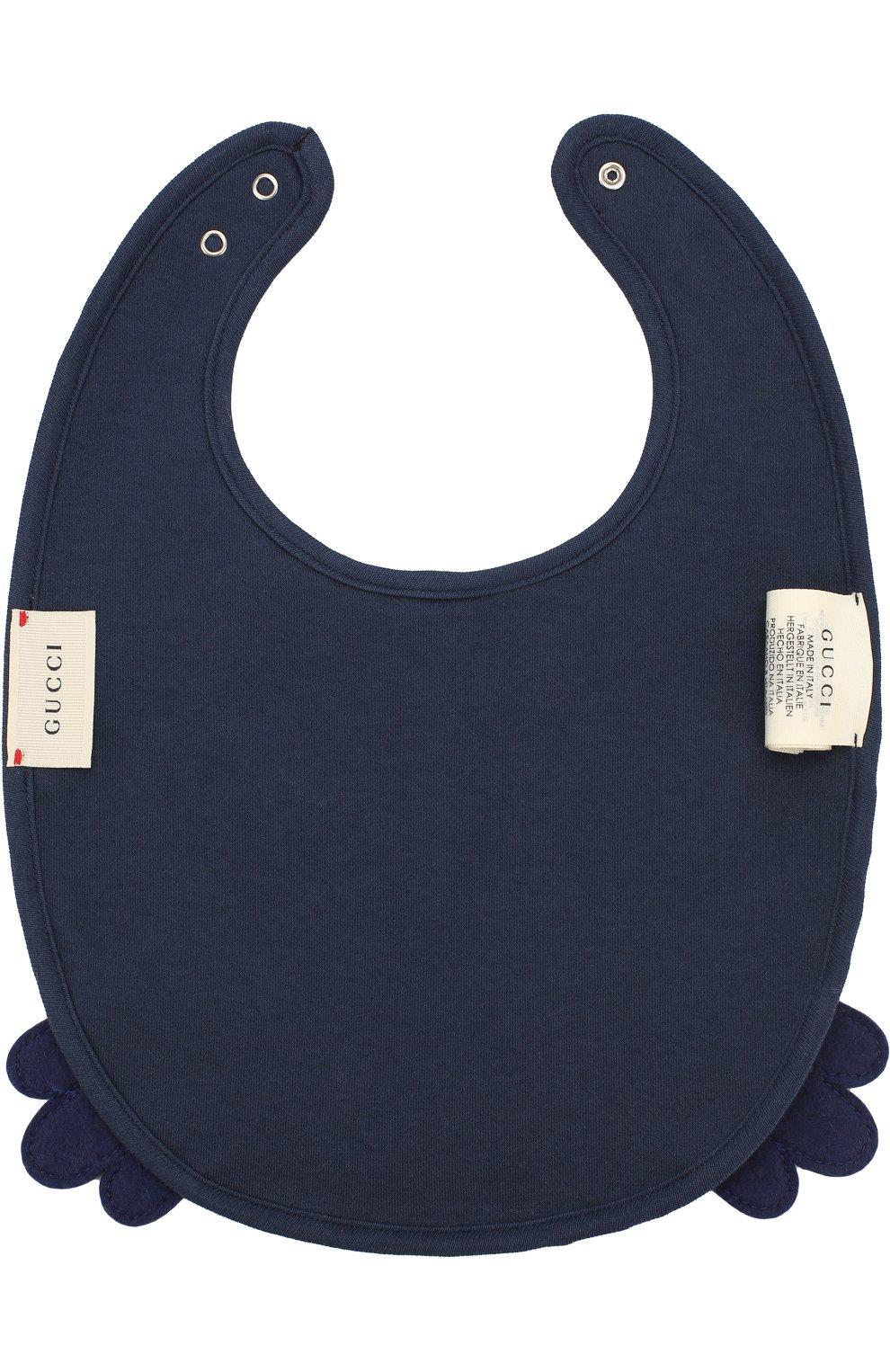 Нагрудник с ярким принтом GUCCI синего цвета — купить за 11150 руб ... 01da3571eed65
