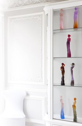 Скульптура adele DAUM фиолетового цвета, арт. 05426 | Фото 2