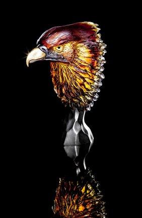 Мужского скульптура королевский орел DAUM коричневого цвета, арт. 05445 | Фото 2