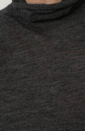 Удлиненная шерстяная водолазка   Фото №5