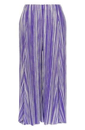 Плиссированные укороченные брюки | Фото №1