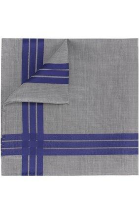 Хлопковый платок с отделкой | Фото №1