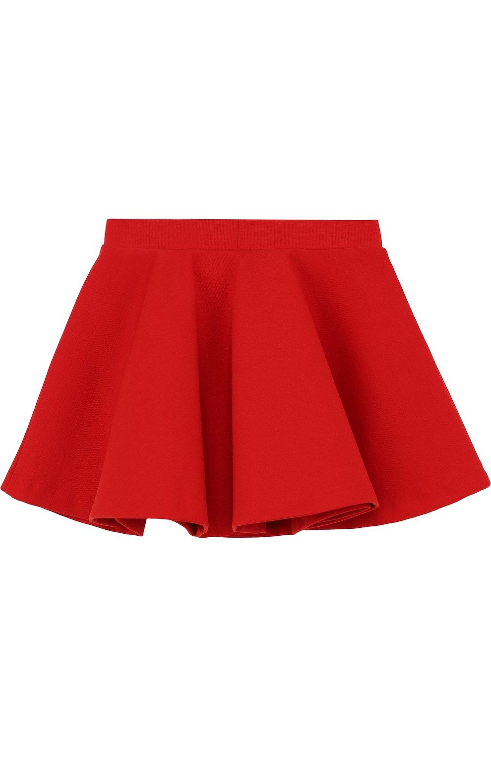 Мини-юбка джерси свободного кроя | Фото №2