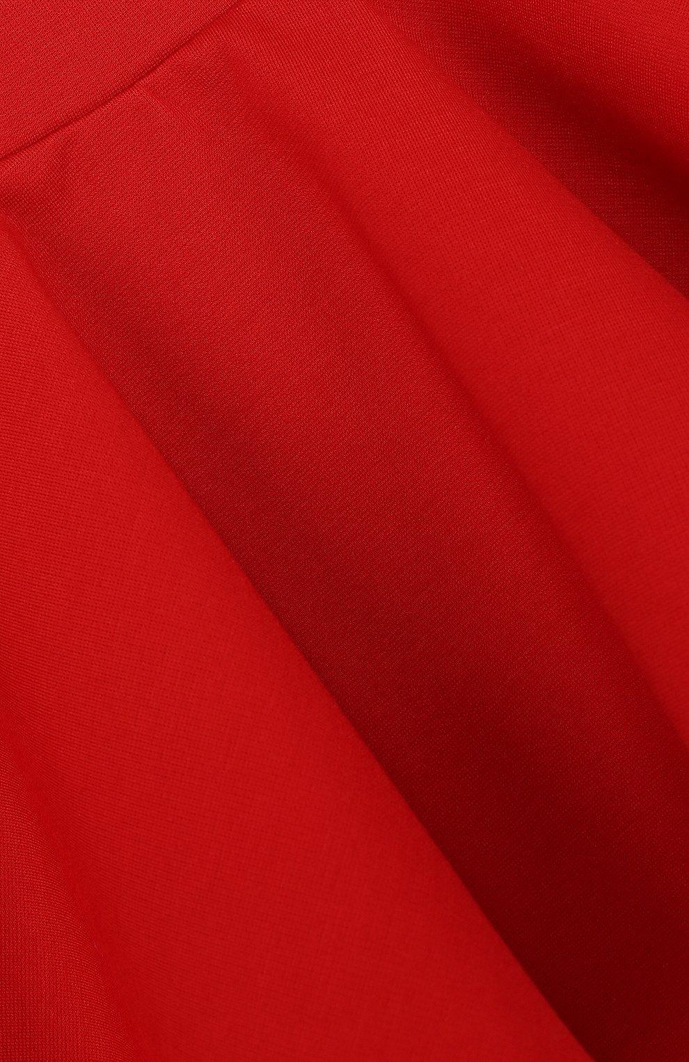 Мини-юбка джерси свободного кроя | Фото №3