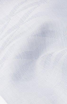 Мужской хлопковый платок с узором и контрастным кантом SIMONNOT-GODARD серого цвета, арт. N0CTURNE | Фото 2