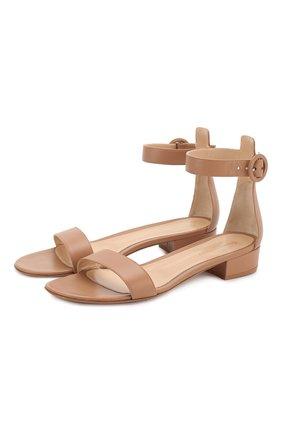 Кожаные сандалии Portofino 20 | Фото №1