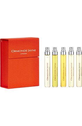 Дорожный парфюмерный набор: Osmanthus, Frangipani, Champaca, Ta'if, Qi   Фото №1