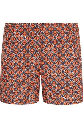 Детского плавки-шорты с принтом LA PERLA оранжевого цвета, арт. 0010670 | Фото 1
