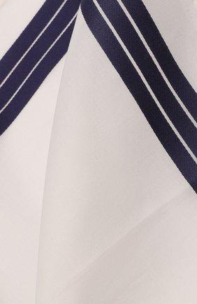 Мужской хлопковый платок SIMONNOT-GODARD белого цвета, арт. ADELIE | Фото 2