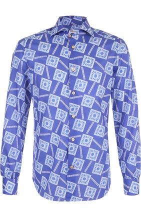 Хлопковая рубашка с принтом