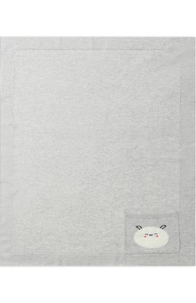 Одеяло из смеси шерсти и кашемира с карманом | Фото №1