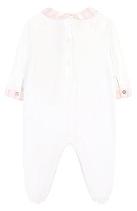 Детского комплект из пижамы и игрушки TARTINE ET CHOCOLAT розового цвета, арт. TK99041 | Фото 2