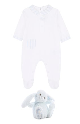 Детского комплект из пижамы и игрушки TARTINE ET CHOCOLAT голубого цвета, арт. TK99041 | Фото 1