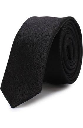 Детский шелковый галстук DOLCE & GABBANA черного цвета, арт. LB1A41/G0U05 | Фото 1