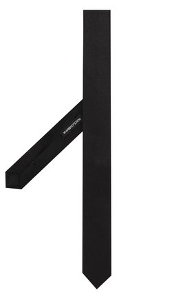 Детский шелковый галстук DOLCE & GABBANA черного цвета, арт. LB1A41/G0U05 | Фото 2