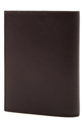 Женские кожаная обложка для паспорта DOLCE & GABBANA бордового цвета, арт. BI2215/A1001 | Фото 2
