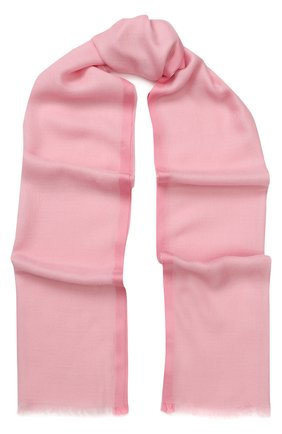 Мужские шарф stola aria из смеси кашемира и шелка LORO PIANA розового цвета, арт. FAI0704 | Фото 1