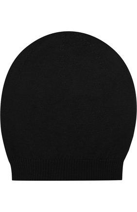 Шерстяная вязаная шапка | Фото №1