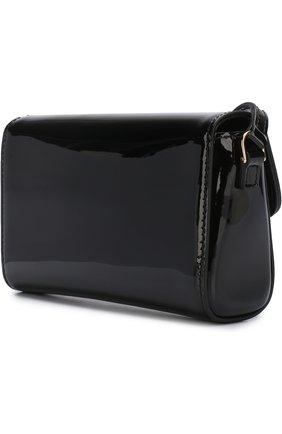 Детская лаковая сумка DOLCE & GABBANA черного цвета, арт. EB0071/A1471 | Фото 2