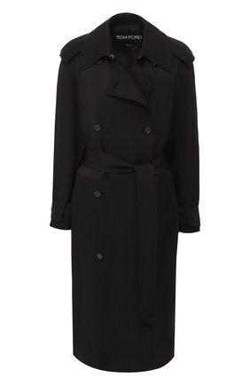 Двубортное пальто   Фото №1