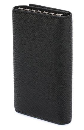 Мужская кожаный футляр для ключей GIVENCHY черного цвета, арт. BK06019121 | Фото 2