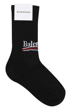Хлопковые носки с логотипом бренда | Фото №1