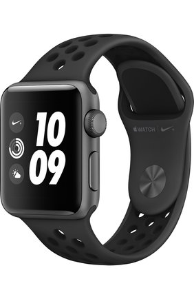 Смарт-часы Apple Watch Nike+ (GPS) 38mm Space Grey Aluminium with Anthracite/Black Sport Band | Фото №1