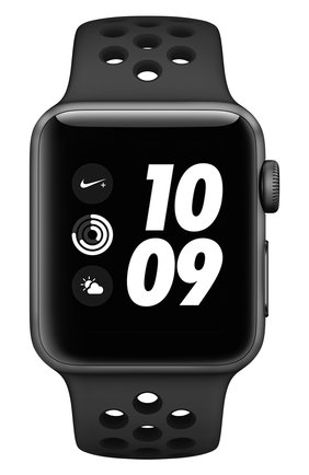Смарт-часы Apple Watch Nike+ (GPS) 38mm Space Grey Aluminium with Anthracite/Black Sport Band | Фото №2