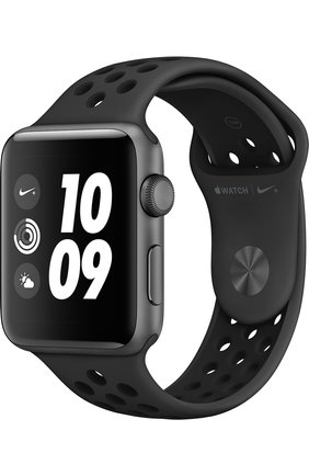 Смарт-часы Apple Watch Nike+ (GPS) 42mm Space Grey Aluminium with Anthracite/Black Sport Band | Фото №1