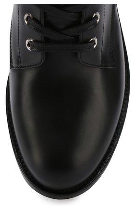 Кожаные байкеры Lagarde на шнуровке   Фото №5