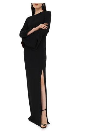 Женское шелковое платье TOM FORD черного цвета, арт. AB2115-FAX230 | Фото 2
