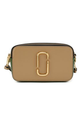 Женская сумка snapshot small MARC JACOBS (THE) бежевого цвета, арт. M0012007 | Фото 1