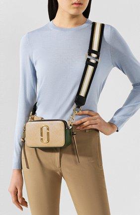 Женская сумка snapshot small MARC JACOBS (THE) бежевого цвета, арт. M0012007 | Фото 2