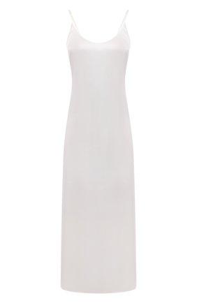Женская шелковая сорочка LA PERLA кремвого цвета, арт. 0020292   Фото 1